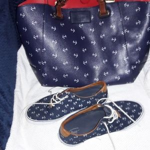 Bag and matching shoes
